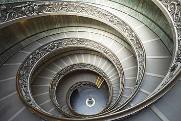 Italy, Rome, The Vatican, Vatican Museum, designed by Guiseppe Momo in 1938, Vatican Museum, The Vatican, Rome, Lazio, Italy, Europe - 834-7040