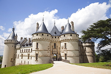 Chaumont Castle, UNESCO World Heritage Site, Loir-et-Cher, Loire Valley, France, Europe