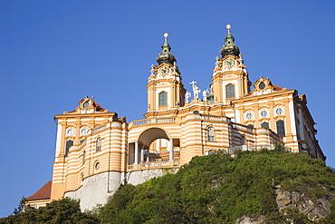 The Benedictine Abbey, Melk, Wachau Cultural Landscape, UNESCO World Heritage Site, Austria, Europe