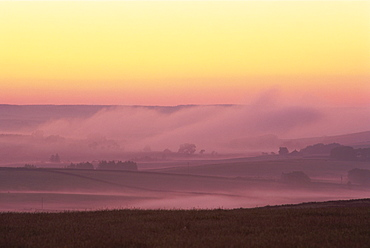 Countryside view, Northumbria, England, United Kingdom, Europe