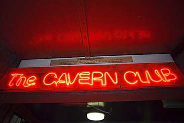 The Cavern Club, Mathew Street, Liverpool, Merseyside, England, United Kingdom, Europe