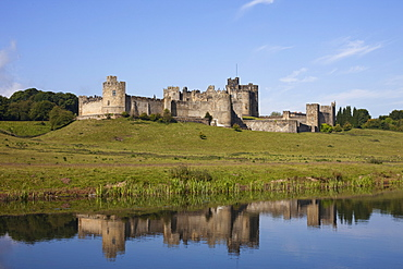 Alnwick Castle, Northumberland, England, United Kingdom, Europe