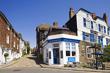 Mermaid Street, Rye, East Sussex, England, United Kingdom, Europe
