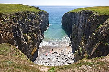 Raming Hole, Pembrokeshire, Wales, United Kingdom, Europe