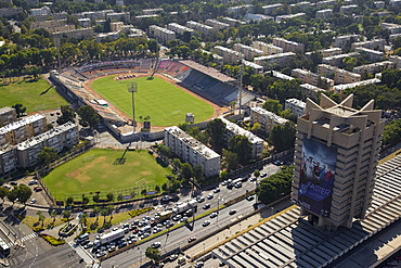 The Soccer stadium in Kiryat Eliezer Haifa