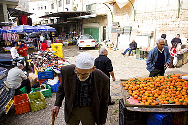 market of the old city of Nazareth, Israel