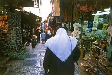 Arab quarter in the old city of Jerusalem, Israel