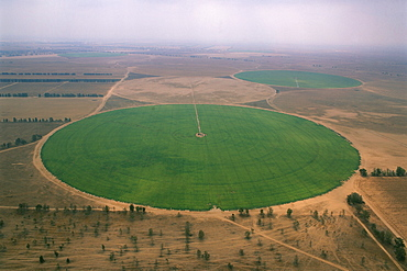 Aerial Agricultre fields of the western Negev, Israel