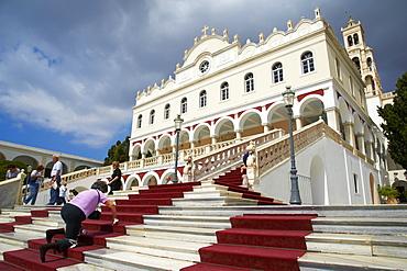 Panagia Evangelistria church, Hora, Tinos, Cyclades, Greek Islands, Greece, Europe