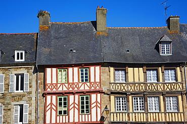 Treguier, Cote de Granit Rose, Cotes d'Armor, Brittany, France, Europe