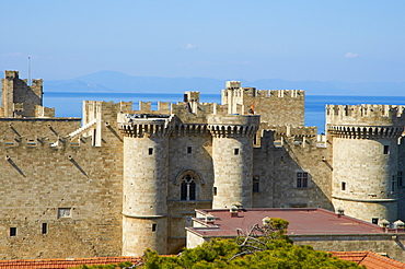 Grand Master's Palace, City of Rhodes, UNESCO World Heritage Site, Rhodes, Dodecanese, Greek Islands, Greece, Europe