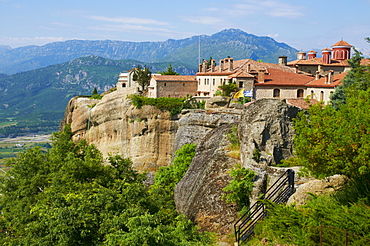 Monastery of St. Etienne, Agios Stefanos, Meteora, UNESCO World Heritage Site, Greece, Europe