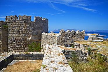 Old town Castle, Kos, Dodecanese, Greek Islands, Greece, Europe