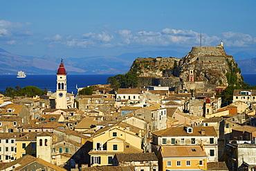 Agios Spyridon church, Kerkyra City, UNESCO World Heritage Site, Corfu, Ionian Islands, Greek Islands, Greece, Europe