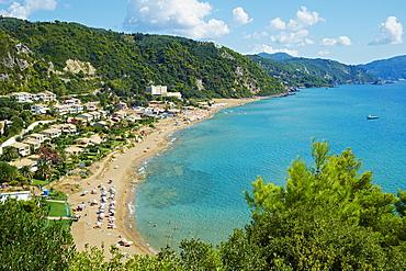 Myrtiotissa Beach, Corfu, Ionian Islands, Greek Islands, Greece, Europe
