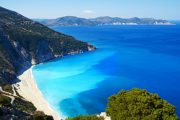 Myrtos Beach, Cephalonia, Ionian Islands, Greek Islands, Greece, Europe