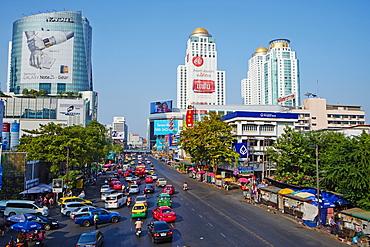 Rajprarop Road, Siam Square area, Bangkok, Thailand, Southeast Asia, Asia