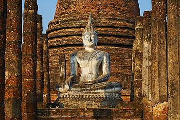 Wat Sa Sri, Sukhothai Historical Park, UNESCO World Heritage Site, Sukhothai, Thailand, Southeast Asia, Asia