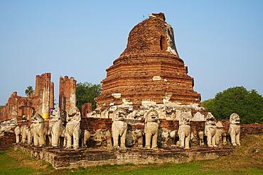 Wat Chaimongkhon, Ayutthaya Historical Park, UNESCO World Heritage Site, Ayutthaya, Thailand, Southeast Asia, Asia