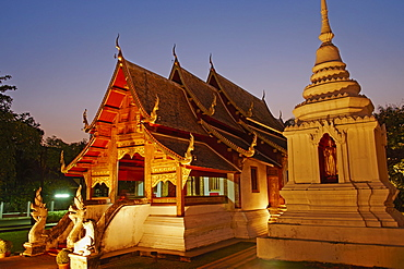 Wat Phra Singh, Chiang Mai, Thailand, Southeast Asia, Asia