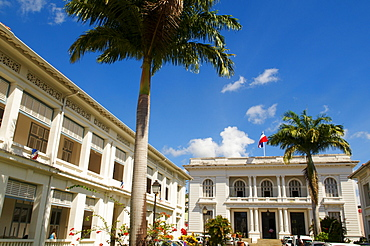 City hall, Fort-de-France, Martinique, French Overseas Department, Windward Islands, West Indies, Caribbean, Central America