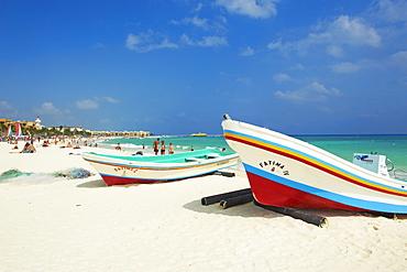 Playa del Carmen beach, Quintana Roo state, Mexico, North America