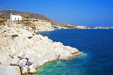 The Chora, Kimolos, Cyclades Islands, Greek Islands, Aegean Sea, Greece, Europe