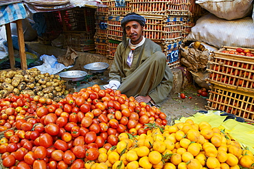 Market of Aswan, Egypt, North Africa, Africa