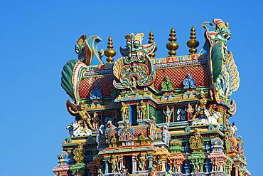 Sri Meenakshi temple, Madurai, Tamil Nadu, India, Asia