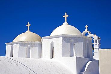 Church, Chora, Amorgos, Cyclades, Aegean, Greek Islands, Greece, Europe