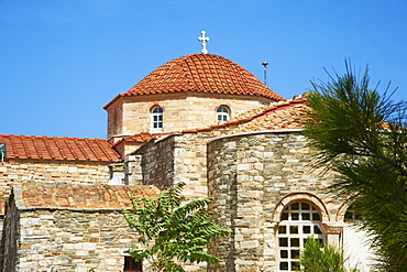 Panagia Ekatontapiliani, a Byzantine church, Hora (Chora) Parikia, Paros, Cyclades, Greek Islands, Greece, Europe