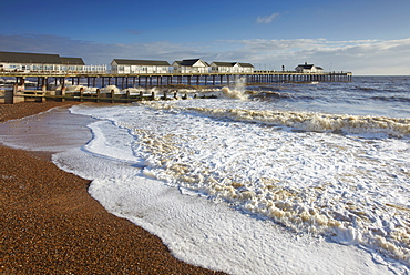A winter morning at Southwold, Suffolk, England, United Kingdom, Europe