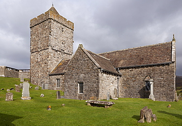 The church at Rogedhal, Isle of Harris, Outer Hebrides, Scotland, United Kingdom, Europe