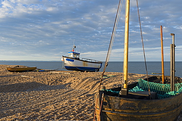 A scene from Dungeness in Kent, England, United Kingdom, Europe