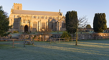 A view of St. Margarets Church at Cley, Norfolk, England, United Kingdom, Europe