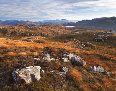 A view from Plockton Crags, Ross and Cromarty, Scotland, United Kingdom, Europe