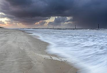 A stormy evening at Waxham, Norfolk, England, United Kingdom, Europe