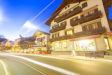 Dorfstrasse, Grindelwald village, Jungfrau region, Bernese Oberland, Swiss Alps, Switzerland, Europe