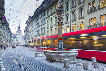 Marktgasse, Bern, Jungfrau region, Bernese Oberland, Swiss Alps, Switzerland, Europe