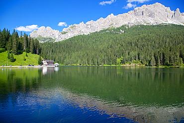 Lago di Misurina, Belluno Province, Veneto, Italian Dolomites, Italy, Europe