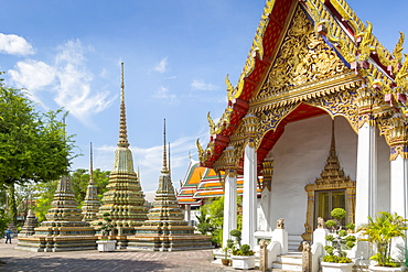 Wat Pho (Wat Po), Bangkok, Thailand, Southeast Asia, Asia