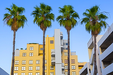 Art Deco architecture on Collins Avenue, South Beach, Miami Beach, Miami, Florida, United States of America, North America