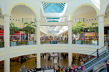 Interior of Meadowhall Shopping Centre, Sheffield, South Yorkshire, Yorkshire, England, United Kingdom, Europe