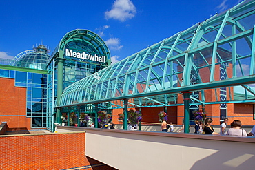 Exterior of Meadowhall Shopping Centre, Sheffield, South Yorkshire, Yorkshire, England, United Kingdom, Europe