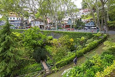 View of Parque do Monte, Funchal, Madeira, Portugal, Europe