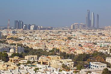 City skyline, Abu Dhabi, United Arab Emirates, Middle East