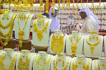 Gold Souk, Abu Dhabi, United Arab Emirates, Middle East