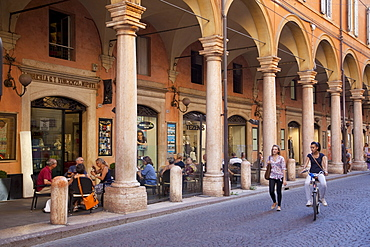 Arcades, Modena, Emilia Romagna, Italy, Europe