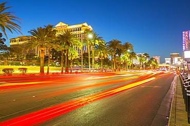 View of Caesars Palace Hotel and Casino on The Strip, Las Vegas Boulevard, Las Vegas, Nevada, United States of America, North America