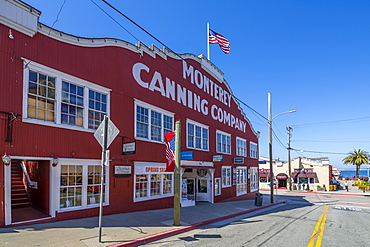 Monterey Canning Company building, Monterey Bay, Peninsula, Monterey, California, United States of America, North America